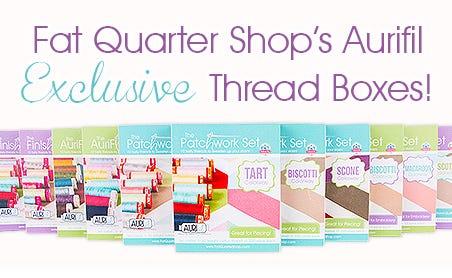 FQS - Fat Quarter Shop's Aurifil Exclusive Thread Boxes are here!