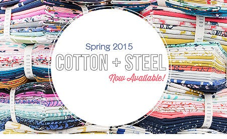 FQS - New Cotton & Steel fabric is at the Fat Quarter Shop!