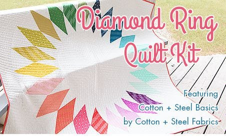 FQS - Diamond Ring QK is at the Fat Quarter Shop!