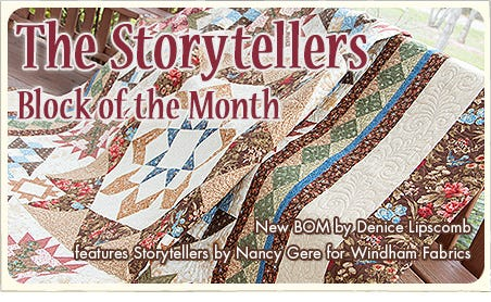 FQS - Sign up for The Storytellers BOM today!