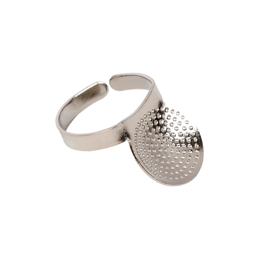 Clover 611 Adjustable Ring Thimble with Plate