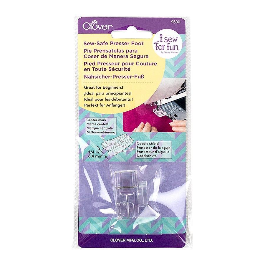 Clover Sew-Safe Presser Foot Designed for beginners #9600