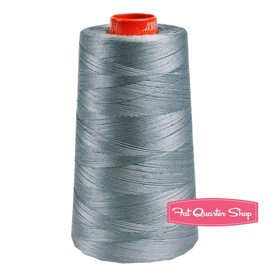 Grey Aurifil 50wt 2605