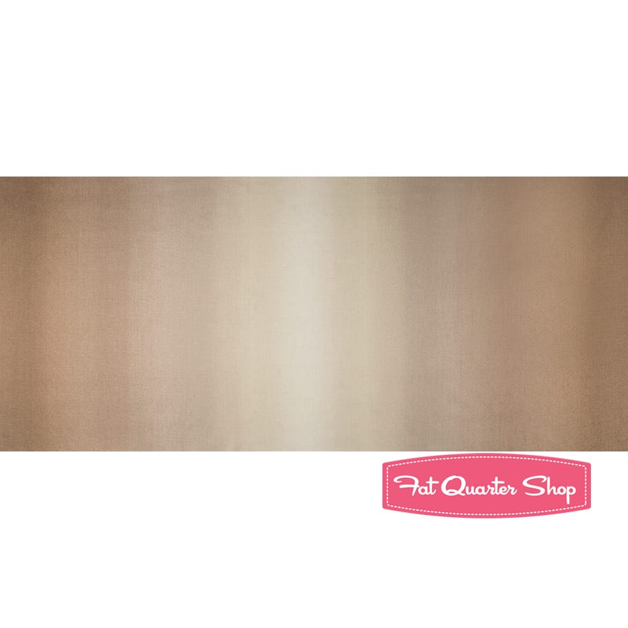 TAU35 100/% quilting cotton Remnant 3.5 inches V and Co Ombre Taupe from Moda Fabrics