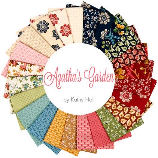 Agatha S Garden Fat Quarter Bundle Kathy Hall For Andover