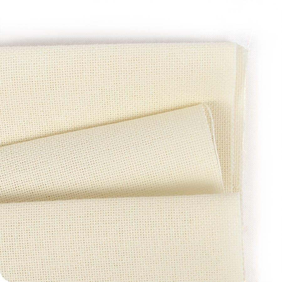 Cross Stitch Fabric 12 x 18 14 Count Aida Cloth Antique White