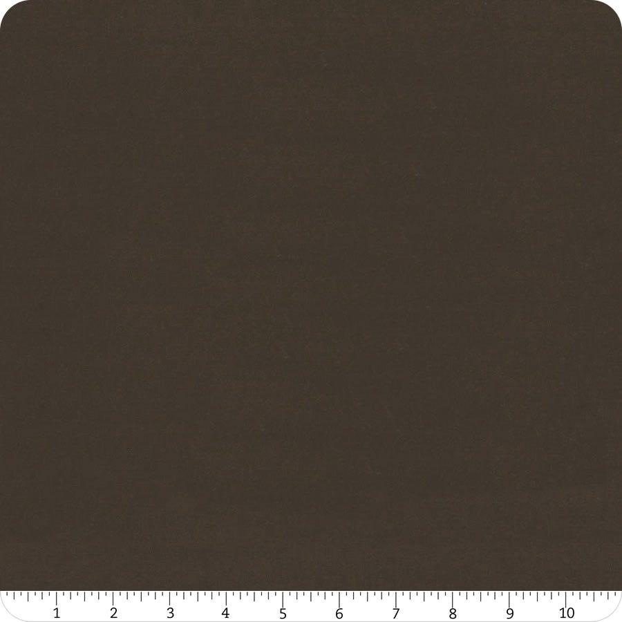 Sold in Half Yard Increments Moda Bella Solid in Espresso 9900 280 Cut Continuously
