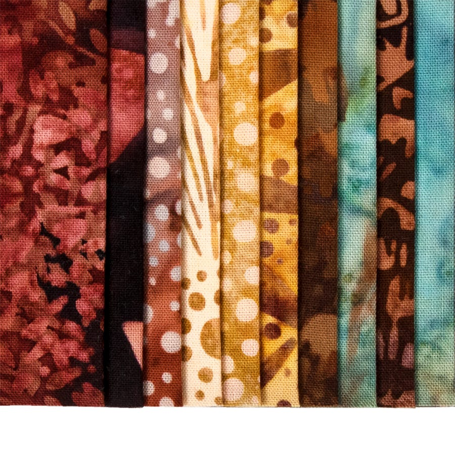 Hoffman Fabrics Horizon Bali Batik Bali Pop