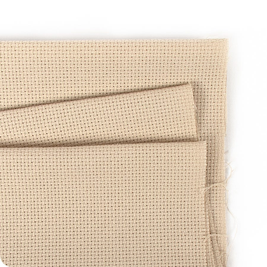 CAFE MOCHA LINEN 32 Count by Wichelt  18 x 27 FREE Tapestry Needle!