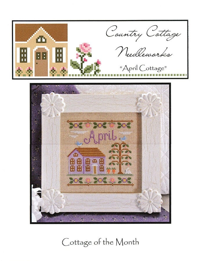 10/%Off Country Cottage Needleworks Counted X-stitch chart Merry Christmas
