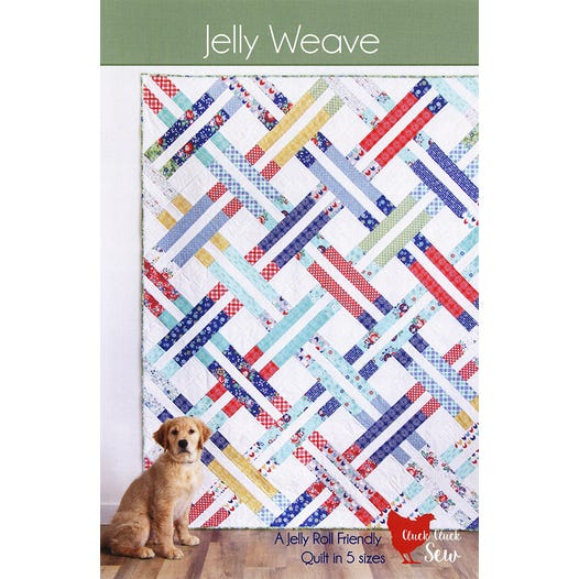 Jelly Weave Quilt Pattern | Cluck Cluck Sew #CCS-195