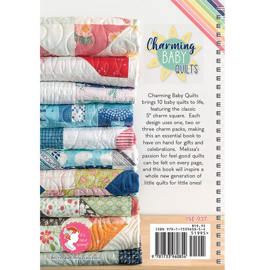 Charming Baby Quilts Book | Melissa Corry for It's Sew Emma #ISE-937 | Fat  Quarter Shop