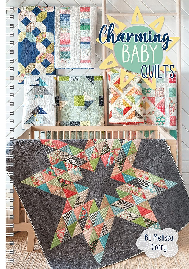 Charming Baby Quilts Book Melissa Corry For It S Sew Emma Ise 937 Fat Quarter Shop