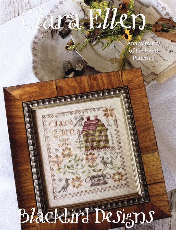 Pattern Sets Pattern Books YOU CHOOSE! BLACKBIRD DESIGNS Cross Stitch Patterns