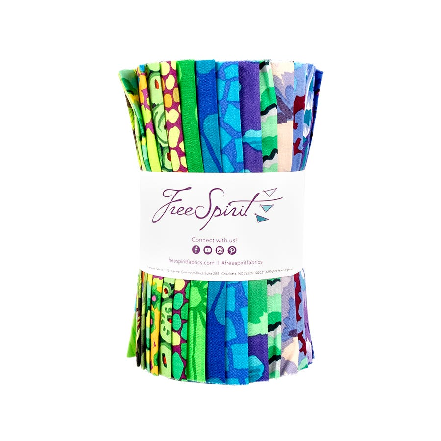 Free Spirit-Fabric Set 6x Fat Quarter