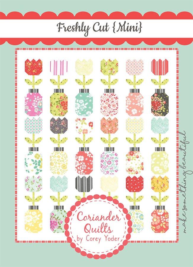 Flower Garden MINI PDF Quilt Pattern