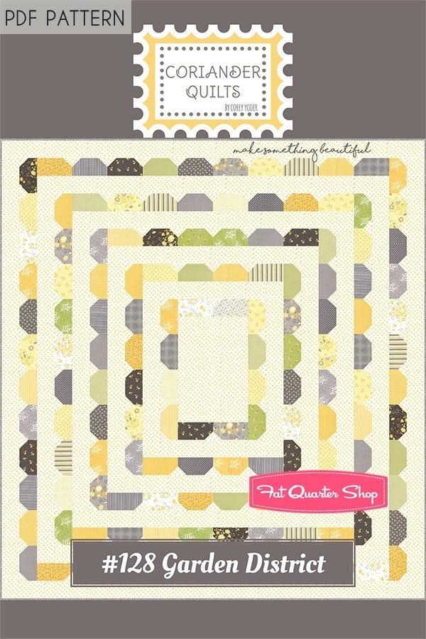 Garden Maze PDF Quilt Pattern