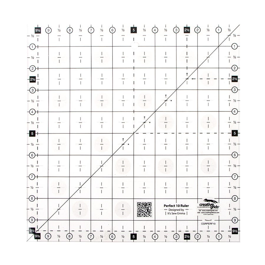 Perfect 10 Quilting Ruler