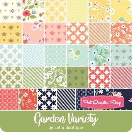 Garden Variety Mini Charm Pack Lella Boutique For Moda Fabrics