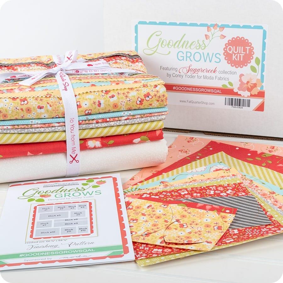 Alison Glass Garden Grow Fabric 100/% cotton fat quarters quilting flowers