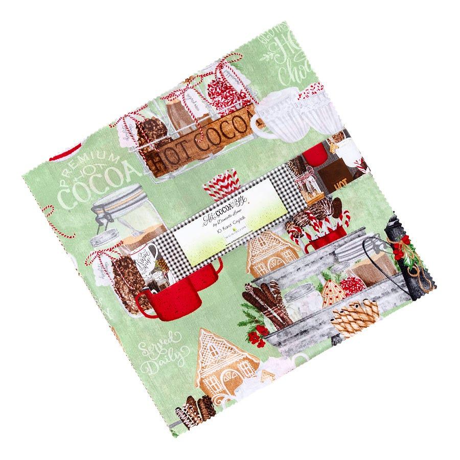 Hot Cocoa Bar 3017-27602-199 Gingham Whiteblack by Danielle Leone for Wilmington