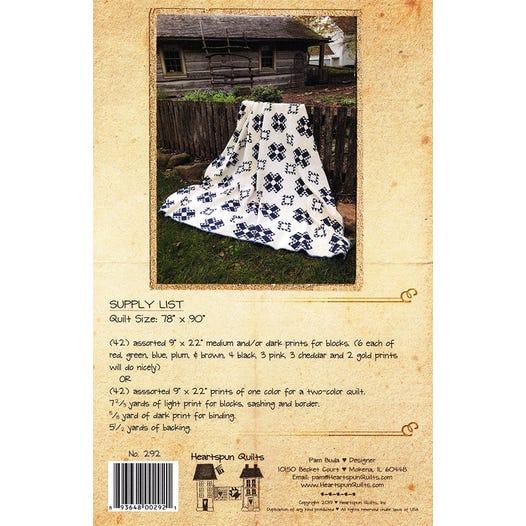 Kentucky Crossroads Quilt Pattern Heartspun Quilts Hq 292
