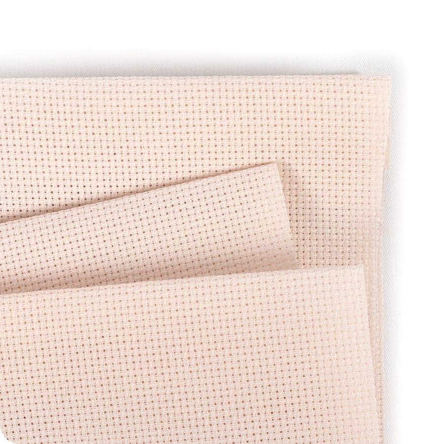 "Wichelt Imports PREMIUM Cross Stitch Fabric AIDA 14ct 18/"" X 25/"" IVORY"