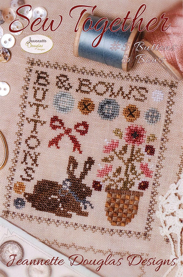 Quilt Box Sampler Jeannette Douglas Cross Stitch Pattern