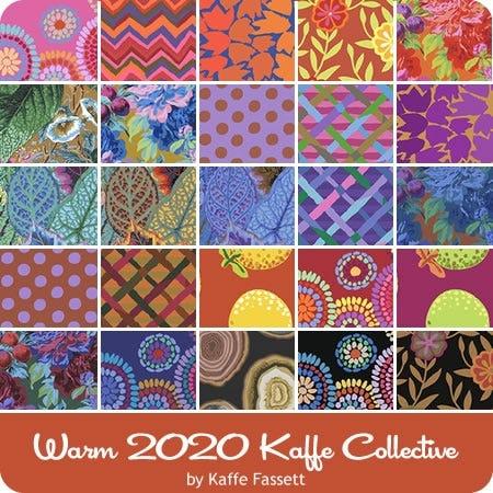 Half yard bundle Kaffe Fassett Collective pre cut fabric