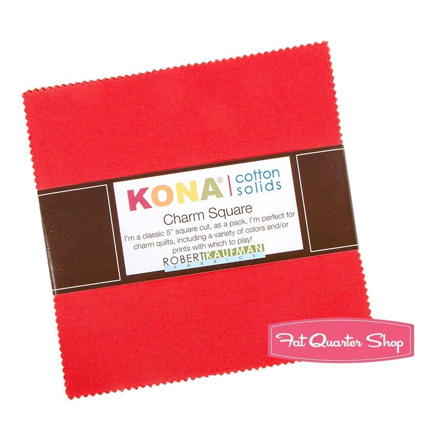 2 Mini Charm Packs Snow Robert Kaufman Kona Cotton Solids 2.5 Inch Squares