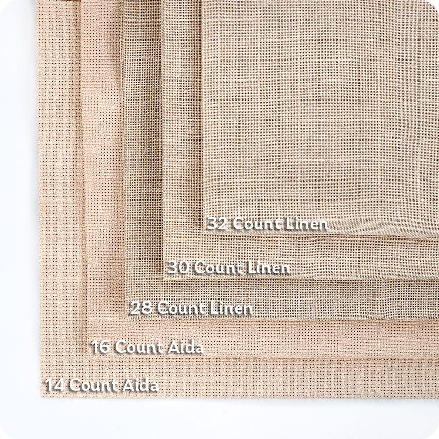 Wichelt Jobelan Lambswool 32 Ct 18 x 27 Cross Stitch Fabric
