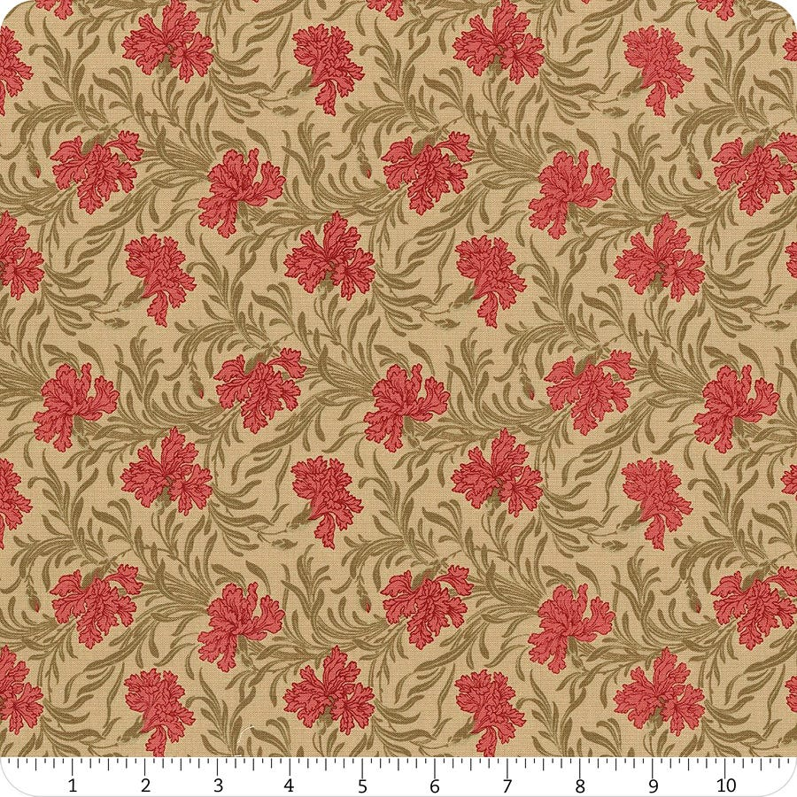 by the half-yard Le Beau Papillon Pearl 13863 12 by French General for Moda Fabrics