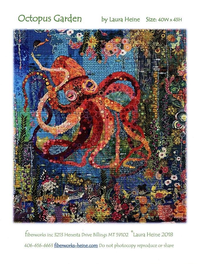 Octopuses Garden Block of the Month Applique Pattern Set