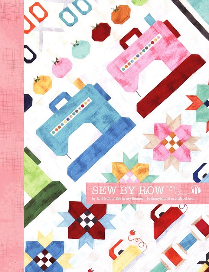 Sew by Row Steppmuster von Lori Holt of Bee in my bonnet