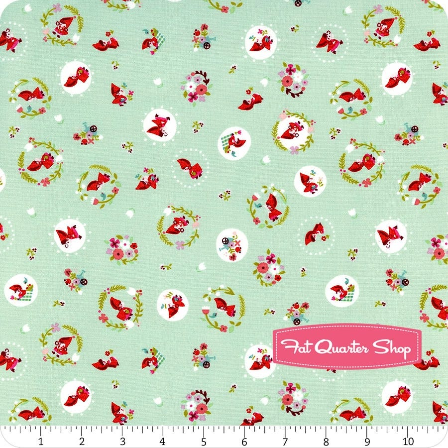 Riley Blake Little Red in the Woods Rolie Polie jelly roll by Jill Howarth RP-8080-40 cotton precut quilting fabric 40 2.5 strips