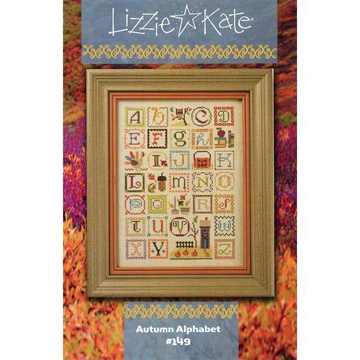 Autumn Alphabet Cross Stitch Pattern Lizzie Kate Fat Quarter Shop