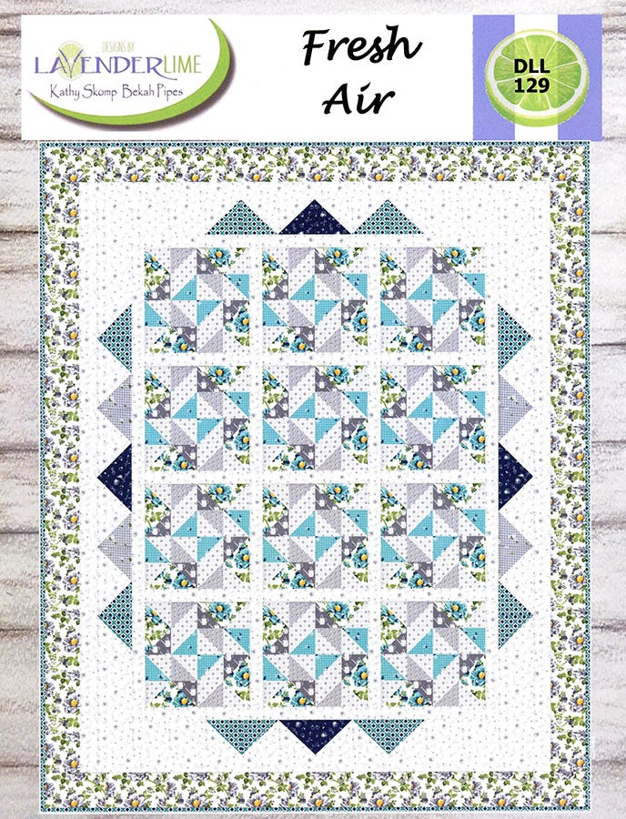 Lavender Lime Quilting Daydreams Pattern