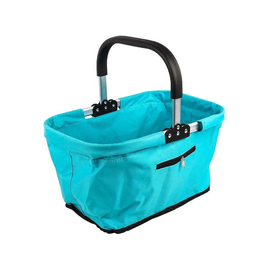 RSVP Turquoise Market Basket