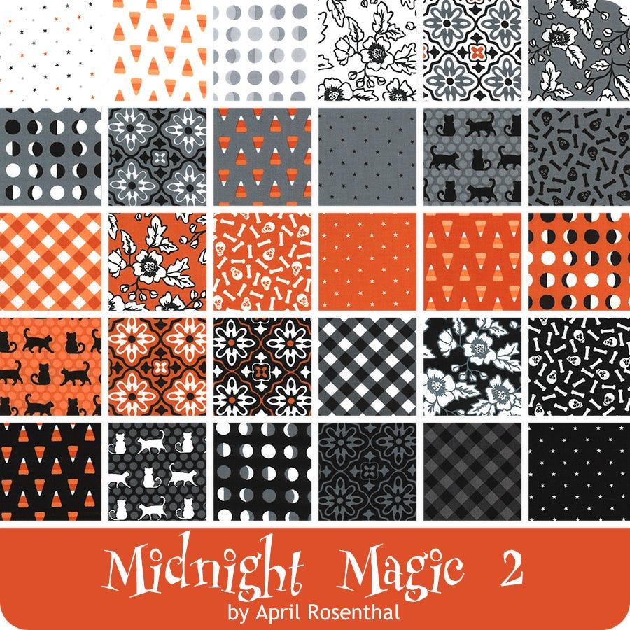 Midnight Magic Fat Quarter Bundle