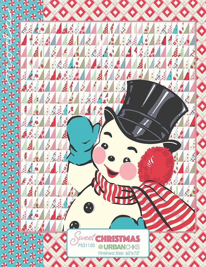 Sweet Christmas Quilt Free Pdf Pattern Fat Quarter Shop