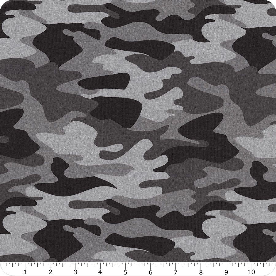 Riley Blake FabricQuilt FabricApparel FabricNobody Fights AloneHalf YardFull YardBlue Camo Fabric