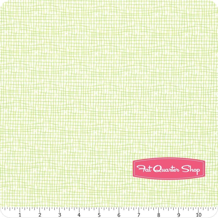 Fat Quarter Lime Cotton Fabric  Robert Kaufman Kona Cotton Solid