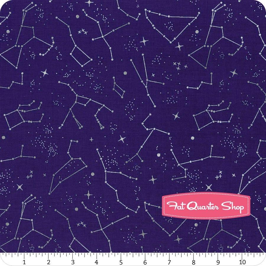 8 Fabrics Fat Quarter Bundle NASA for Riley Blake Designs