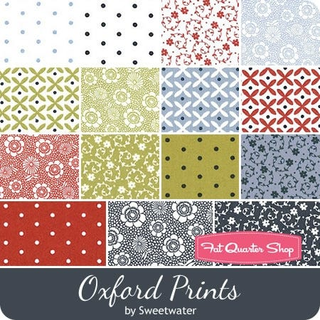 Moda Fabric Oxford Wovens Layer Cake Patchwork Quilting 10 Inch Squares