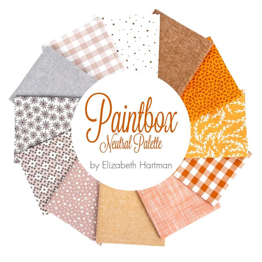 Robert Kaufman Elizabeth Hartman Designer Palette Half Yard Bundle