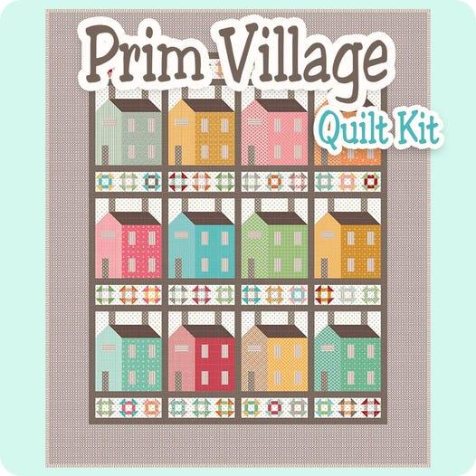 Prim Village Quilt Kit | Lori Holt for Riley Blake Designs