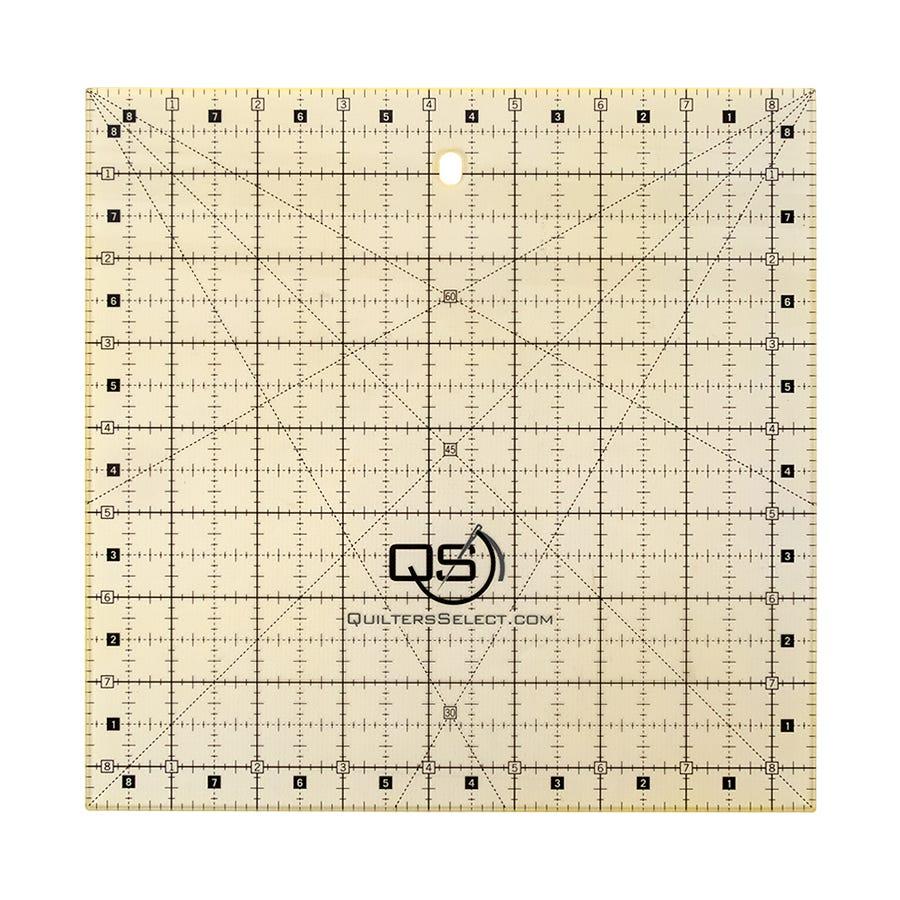 Riley Blake Designs by Lori Holt Trim-It Non-Slip Ruler Square 8.5 X 8.5