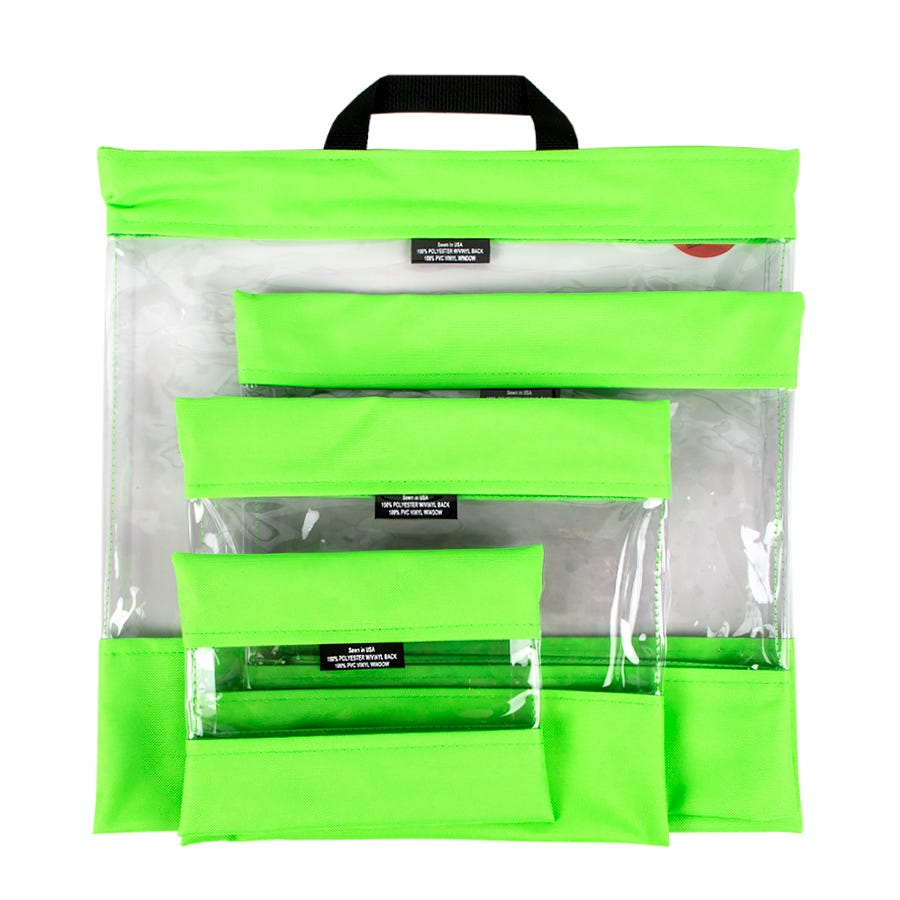 """/""""See Your Stuff/"""" Project and Organizer Bags"""