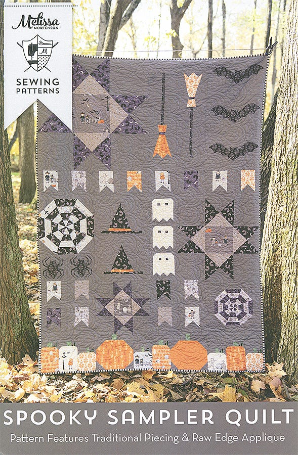 Preorder Spooky Hollow by Melissa Mortenson 24  Pieces Fat Quarter Bundle