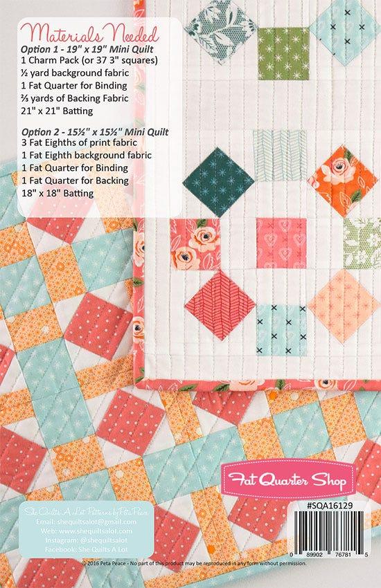 In The Square MINI PDF Quilt Pattern